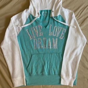 Live Love Dream Sequins Hoodie